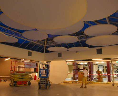 Stretch Ceiling UCLAN