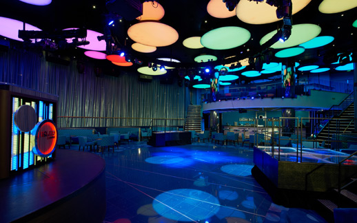 Colour Changing Marine Ceiling