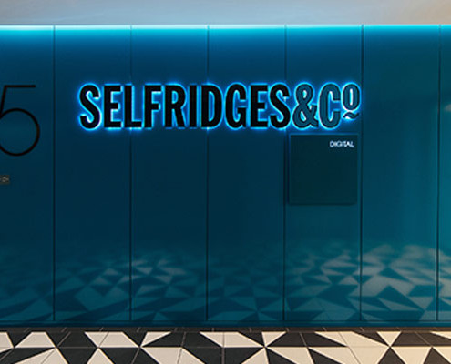 Barrisol Welch Selfridges Head Office Project
