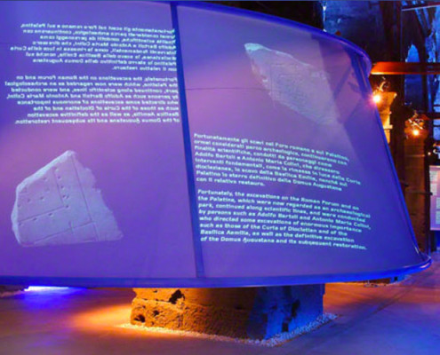 Barrisol Projection Installations