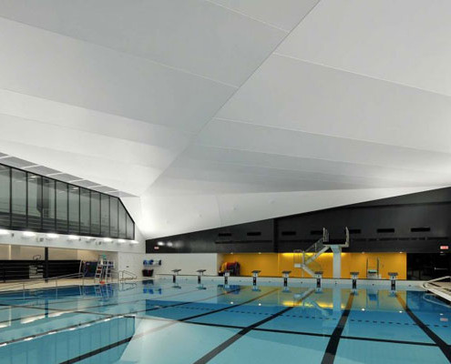 Barrisol Stretch Ceiling Swimming Pool