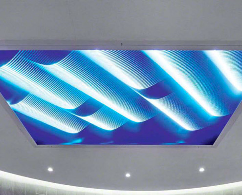 Barrisol ELT3D Lighting Installation