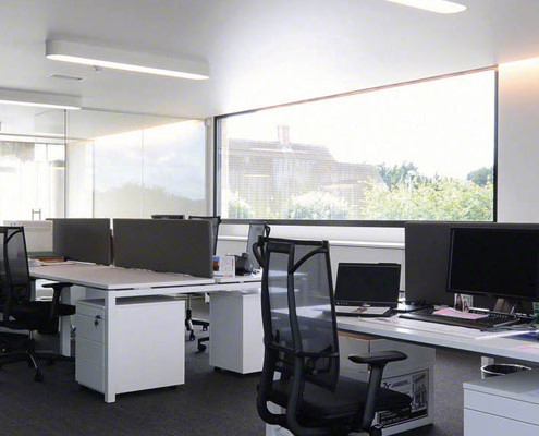 Barrisol Clim Commercial Ceiling