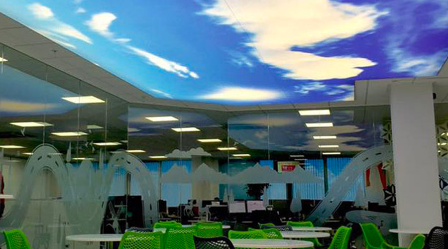 Illuminated Ceilings Barrisol Lighting Barrisol Welch