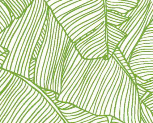 Barrisol Editions Leaf Print Graphic