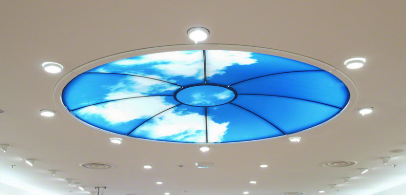 Barrisol Printed Ceiling Feature
