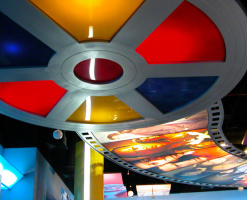 Barrisol Printed Ceiling Retail and Leisure Installation