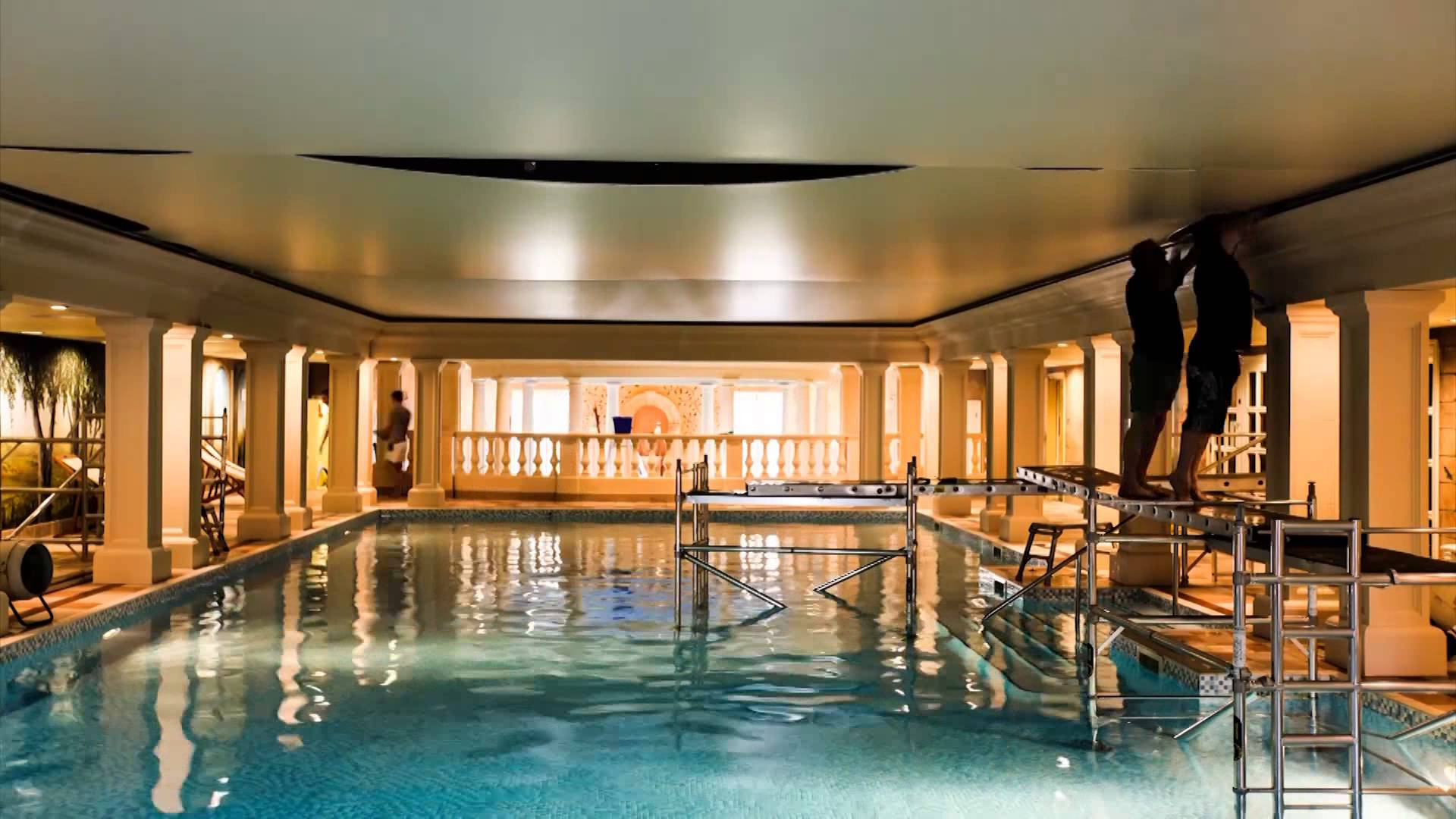 Barrisol Swimming Pool Ceiling Rescue