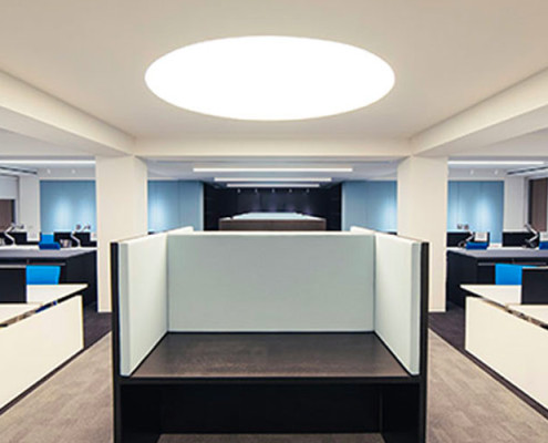 Barrisol Commercial Lighting Installations