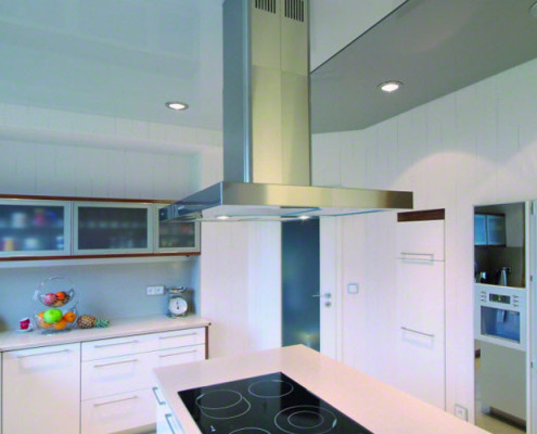 Barrisol Stretch Ceiling Kitchen Installation