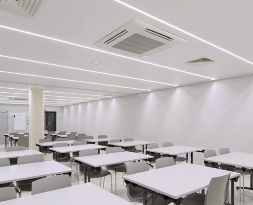 Barrisol Light Lines Illuminated Ceilings