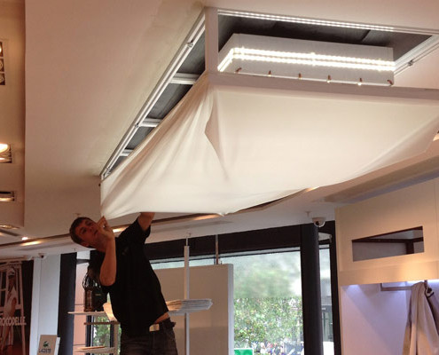 Barrisol-Welch-Lacoste-Store-Translucent-Ceilings