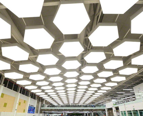 Barrisol Acoustic Ceiling Lights