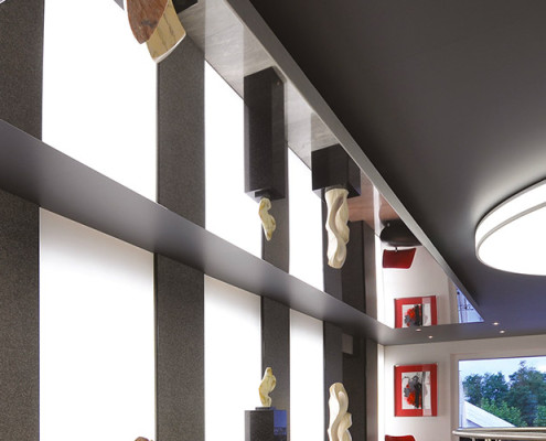 Barrisol Stretch Ceiling Mirror Panels