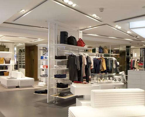 BW Retail Lighting Installation