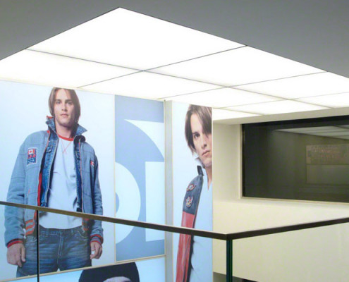 Barrisol Illuminated Ceilings For Retail