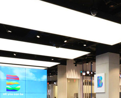 Barrisol Innovative Retail Lighting Designs
