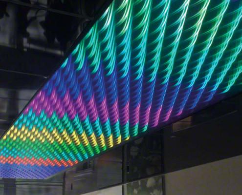 Barrisol 3D Light Feature Installations