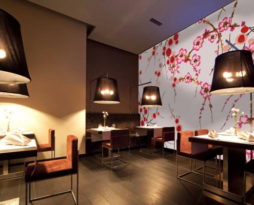 Barrisol Artolis Restaurant Installation