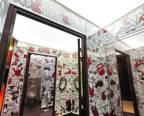 Barrisol Artolis Funky Bathroom Installation