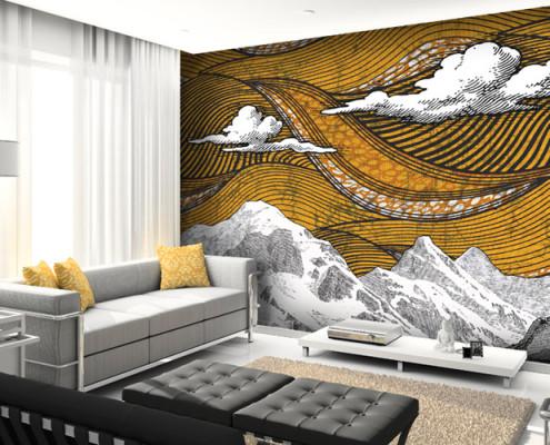 Barrisol Artolis Bespoke Printed Walls