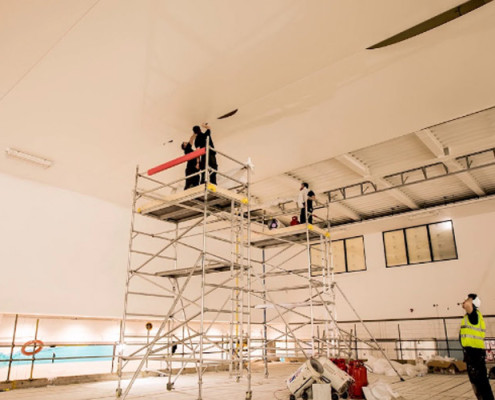 Barrisol Stretch Ceiling Installations