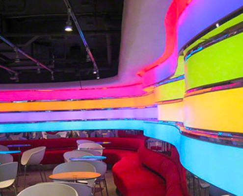 Barrisol Illuminated Walls