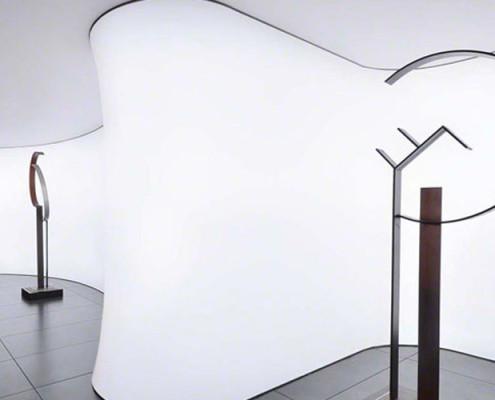 Barrisol Illuminated White Wall