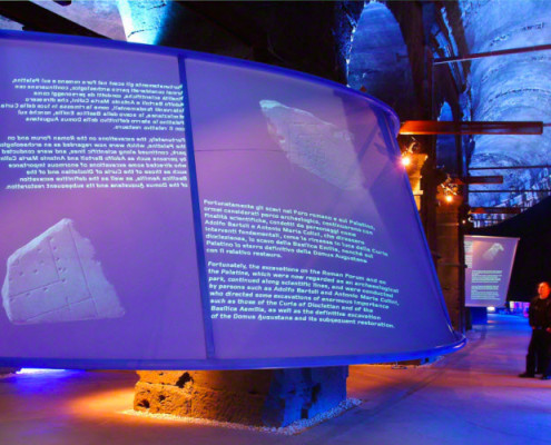 Barrisol Projection Wall Installation
