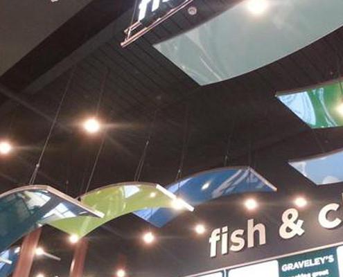 Barrisol 3D Retail Display