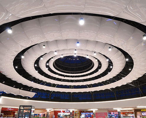 Barrisol 3D Shopping Centre Features