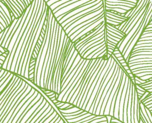 Barrisol Editions Leaf Print Graphic