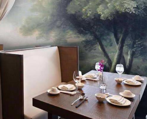 Barrisol Editions Restaurant Installation