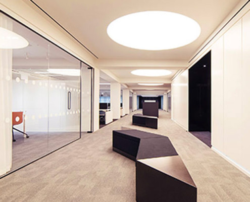 Barrisol Commercial Light Feature Installations