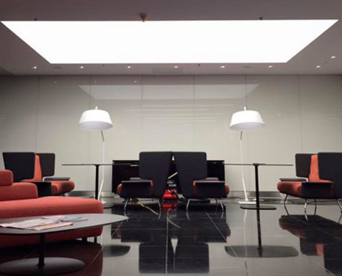 Barrisol Commercial Stretch Ceiling And Lighting