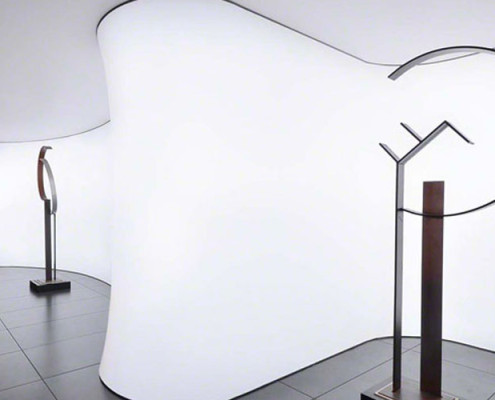Barrisol Illuminated Display Wall