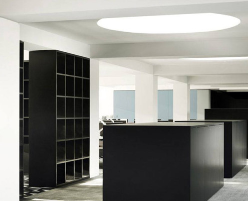 Barrisol Lighting Enhancing Commercial Office Spaces