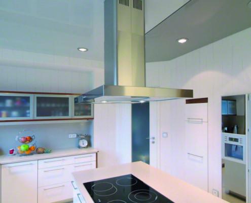 Barrisol Stretch Ceiling Kitchen Installation
