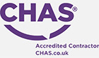 Barrisol Welch CHAS Accredited Contractor logo
